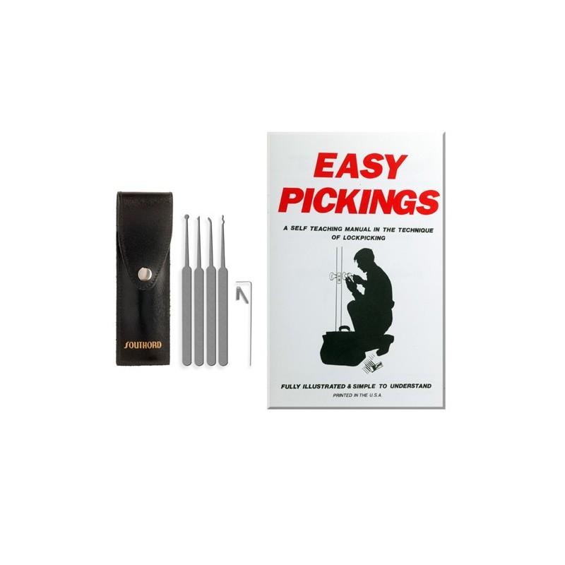 Tiirikkasetti PXS-05 ja Easy Picking kirjanen