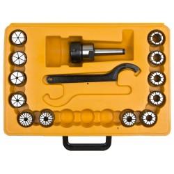 Adapterite komplekt (pinguldav) MK2 2-20 mm ER32