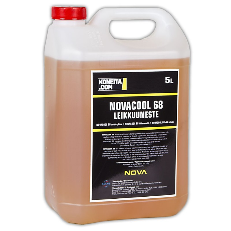 NOVACOOL 68 lõike- ja jahutusvedelik 5l