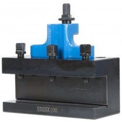 Tool Holder Quick Change Tool Post 25 mm ED25x100 for 40-positioning system