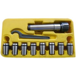 Collet Chuck Set MT4, 4-16 mm