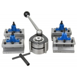 NOVA Quick Change 40-positioning system. 4 Tool Holders. Type C (400-700 mm)