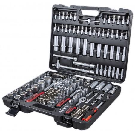 """KS Tools padrunvõtmete komplekt 179 tk 1/4""""+3/8""""+1/2"""""""