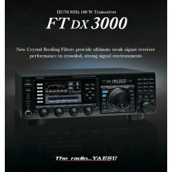 FT DX 3000 HF/50 MHz transceiver