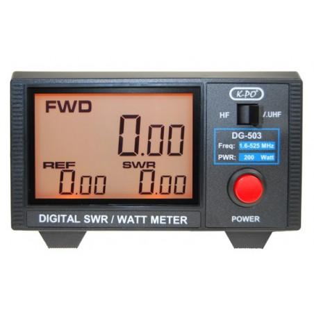 DG-503 digitaalinen swr/tehomittari